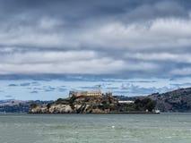 Alcatraz Island in San Francisco Stock Photos