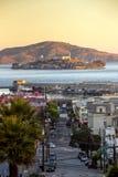 Alcatraz Island in San Francisco Royalty Free Stock Image
