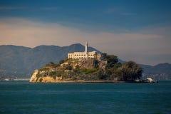 Alcatraz Island in San Francisco. USA Royalty Free Stock Image