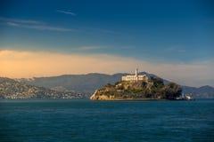 Alcatraz Island in San Francisco Royalty Free Stock Photos