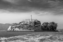 Alcatraz Island in San Francisco Royalty Free Stock Photos