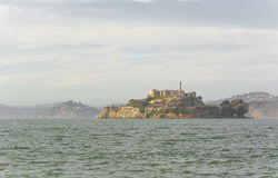 Alcatraz Island in San Francisco, USA. Stock Images