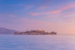 Alcatraz Island in San Francisco Stock Images