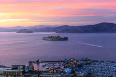 Alcatraz Island in San Francisco Stock Images