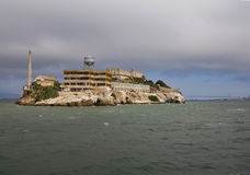 Alcatraz Island in San Francisco, USA. Stock Photography