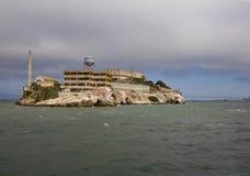 Alcatraz Island in San Francisco, USA. Alcatraz Island view from San Francisco Bay Stock Photography