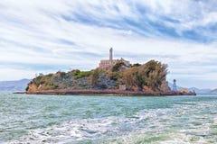 Alcatraz Island from the Water Royalty Free Stock Photo