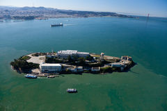 Alcatraz jail in San Francisco Royalty Free Stock Photo