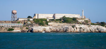 Alcatraz jail in San Francisco Royalty Free Stock Images