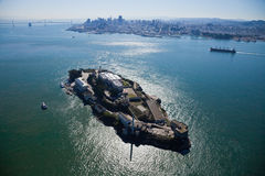 Alcatraz jail in San Francisco Stock Image