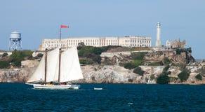 Alcatraz jail in San Francisco Royalty Free Stock Photos