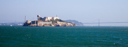 Alcatraz jail in San Francisco Stock Photos