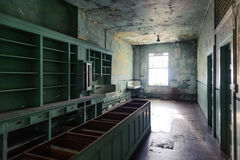 Alcatraz-Krankenhaus Lizenzfreie Stockfotografie