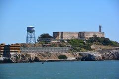 Alcatraz la roca Fotos de archivo