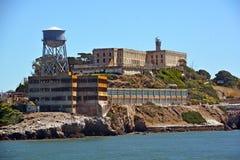 Alcatraz la roca Fotos de archivo libres de regalías