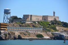 Alcatraz la roca Fotografía de archivo libre de regalías