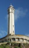 Alcatraz lighthouse Royalty Free Stock Images