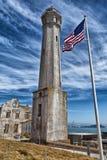 Alcatraz Lighthouse Stock Photo