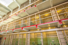 Alcatraz main cells Stock Images