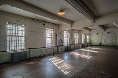 Alcatraz meal room Stock Photography