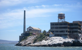 Alcatraz, the most famous prision. Stock Photography