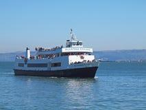 Alcatraz Pływa statkiem w San Fransisco Zdjęcia Royalty Free