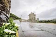 Alcatraz Power House, San Francisco, California. The Power House on Alcatraz Penitentiary island, now a museum, in San Francisco, California, USA. A view of Royalty Free Stock Images