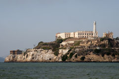 Alcatraz prison. In San Francisco Bay Stock Photos