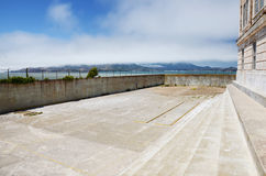 Alcatraz prison block Royalty Free Stock Images