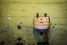 Alcatraz Prison Cell Sink Royalty Free Stock Image
