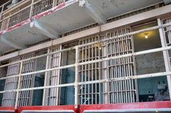 Alcatraz prison. Prison cells of Alcatraz, inside view Stock Photo