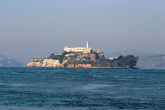 Alcatraz prison, San Francisco bay. Royalty Free Stock Image