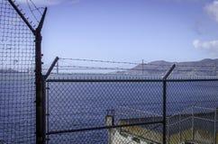 ALCATRAZ PRISON, SAN FRANCISCO CALIFORNIA stock images