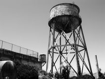 ALCATRAZ PRISON, SAN FRANCISCO, US - JUNE 2005 Royalty Free Stock Photography