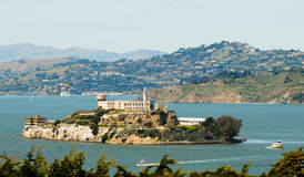 Alcatraz prison in San Fransisco Stock Photos