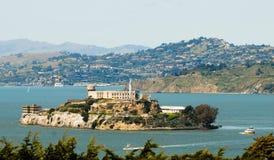 Alcatraz prison in San Fransisco stock photos