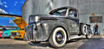 Alcatraz prison truck Stock Images