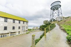 Alcatraz Quartermaster, Σαν Φρανσίσκο, Καλιφόρνια Στοκ Εικόνες