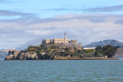 Alcatraz the Rock Stock Photo
