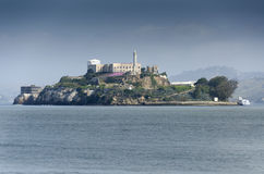 Alcatraz in San Francisco Stock Photography