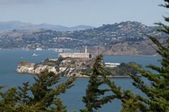 Alcatraz San Francisco Image stock