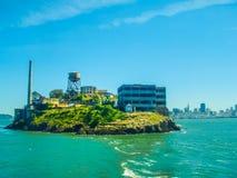 Alcatraz San Francisco Kalifornien Royaltyfri Fotografi