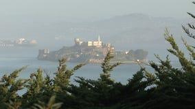 Alcatraz in San Francisco, United States stock footage