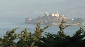 Alcatraz in San Francisco, United States stock video