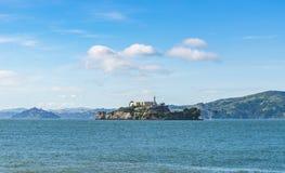 Alcatraz,san Francisco,usa.2016.04.20: Alcatraz Island On Sunny Day In Summer Season. Stock Image