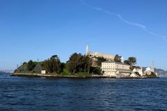 Alcatraz in San Francsico, Kalifornien Lizenzfreie Stockfotografie