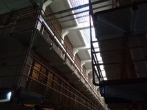 Alcatraz in San Fransico inside the jail royalty free stock images