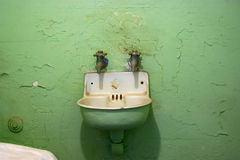 Alcatraz Sink. Sink in an Alcatraz cell Stock Photos