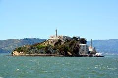 Alcatraz skała Zdjęcia Royalty Free