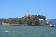 Alcatraz skała Obrazy Royalty Free